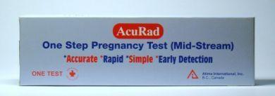 AcuRad One Step Pregnancy Test (Mid-Stream) - 1 Test
