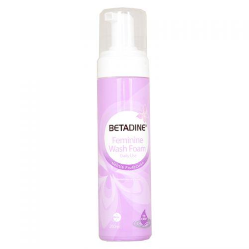 Betadine Feminine Wash Foam (Daily Use) - 200ml