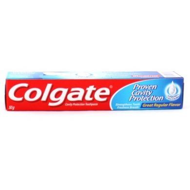 Colgate Cavity Protection Toothpaste (Great Regular Flavor) - 50gm