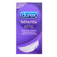 Durex Fetherlite Elite Condom - 12 Ultra Fine Condoms
