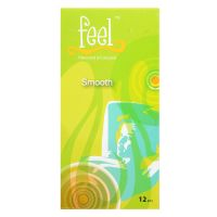 Feel Smooth Condom - 12 Flavoured & Coloured Condoms