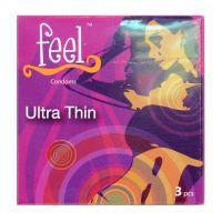 Feel Ultra Thin Condom - 3 Condoms
