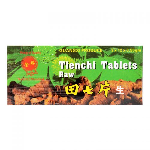 Guangxi Tienchi Tablets (Raw) - 36 Tablets