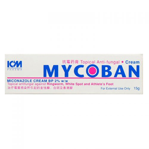 ICM Pharma Mycoban Topical Anti-fungal Cream - 15 gm