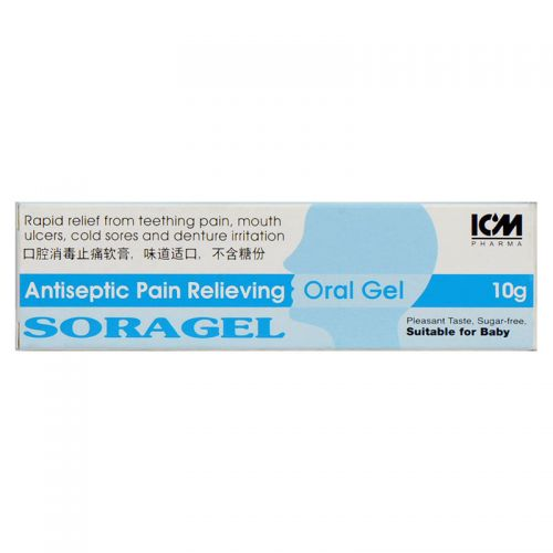 ICM Pharma Soragel Oral Gel - 10 gm
