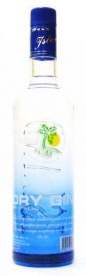 Island Dry Gin by Feds - 75 cl (alc 40% v/v)