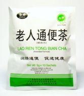 Jinsai Brand Lao Ren Tong Bian Cha (Amended Formula) - 10 Sachets X 5 gm