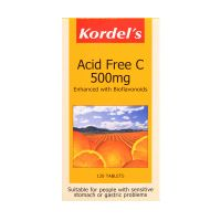 Kordel's Acid Free C 500mg - 120 Tablets