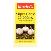 Kordel's Super Garlic 20,000mg - 120 Softgel Capsules