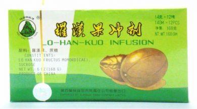 Kwei Feng Brand Lo-Han-Kuo Infusion - 12 pcs X 14 gm