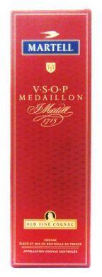Martell V.S.O.P Medaillon Martell 1715 Old Fine Cognac - 70 cl (40% vol)