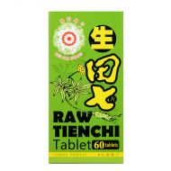 Mei Hua Brand Raw Tienchi Tablet  - 60 Tablets