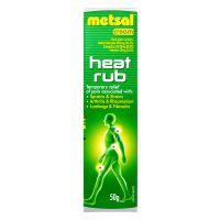 Metsal Cream Heat Rub - 50g