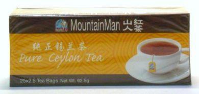 Today's MountainMan Pure Ceylon Tea - 25 Tea bags x 2.5 gm