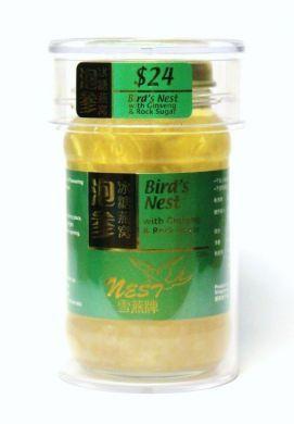 Nest Brand Bird's Nest with Ginseng & Rock Sugar - 230 gm