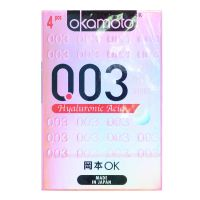 Okamoto 0.03 Hyaluronic Acid  Condom - 4 Pieces