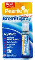 Pearlie W Breath Spray Anti-Bacterial Breath Spray (Icy Mint) - 3 fl.oz (8.5 ml)