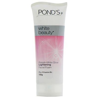 Ponds White Beauty Pinkish-White Glow Lightening Facial Foam - 100g