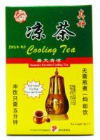 Qian Jin Brand Zhun Ho Cooling Tea - 3 Packets X 5 gm
