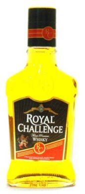 Royal Challenge Finest Premium Whisky - 375 ml (42.8%vv)