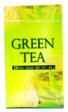 Sea Dyke Brand Green Tea (New) - 20 Tea Bags