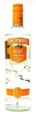 Smirnoff Twist of Orange Made with Triple Distilled Vodka - 70 cl (37.5% vol)