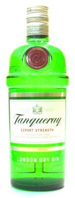 Tanqueray Export Strength London Dry Gin - 70 cl (43.1% Vol)