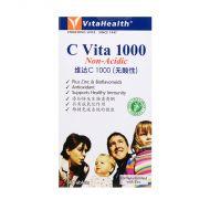 VitaHealth C-Vita 1000 Non Acidic - 60 Tablets