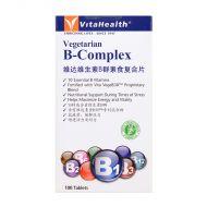 VitaHealth Vegetarian B-Complex - 100 Tablets