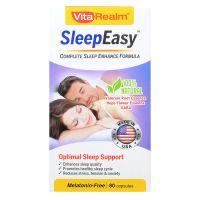 VitaRealm SleepEasy - 80 Capsules