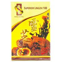 Wellring Brand Superior Lingzhi 100 - 100 Capsules