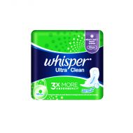 Whisper Ultra Clean Heavy Day / Night (Wings) - 14 Pads