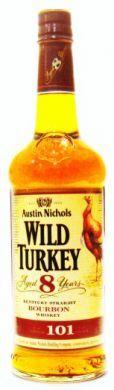 Austin Nichols Wild Turkey Aged 8 Years Kentucky Straight Bourbon Whiskey - 700 ml (50.5% vol)
