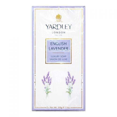 Yardley London English Lavander Luxury Soap - 3 x 100g