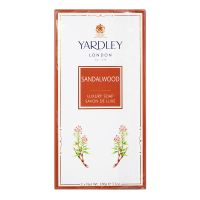 Yardley London Sandalwood Luxury Soap - 3 x 100g